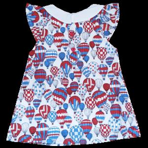 Kleid mit Heißluftballons
